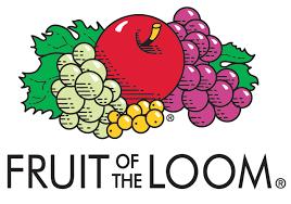 フルーツオブザルームの子供服 ペティマインとのコラボベビー服、タドラー服の紹介 Fruit of the loomのロゴ画像