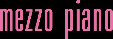 メゾピアノ卒服 入学式 フォーマル服の紹介 メゾピアノロゴマーク画像