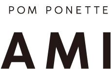 アミ ポンポネット ロゴ画像
